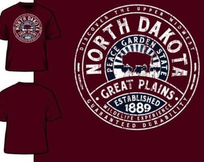 ND Tee- Disc Red - S