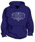 ND Oil Field Established Purple Hoody S