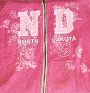 ND Full Zip Pink Hoody S