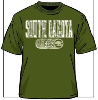 SD Tee- Military Green Capsule - S