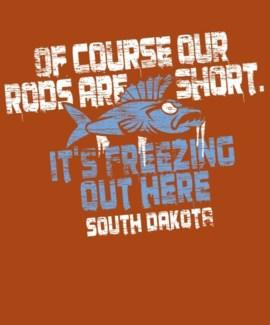 SD Short Rod Orange Tee L