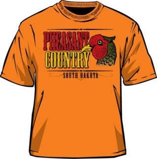 SD Pheasant Country Tee L