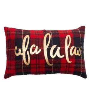 Fa La La Edinburgh Check Cushion Cover  Multi
