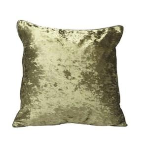 Crushed Velvet Cushion Cover Forest