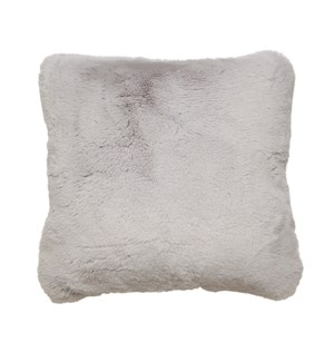 Faux Fur Cushion Cover Grey