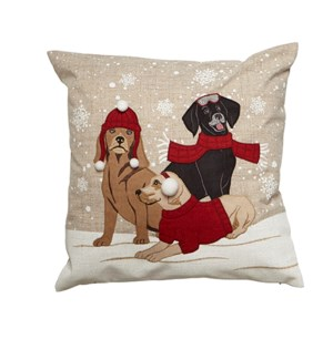 Dog Cushion Cover Red