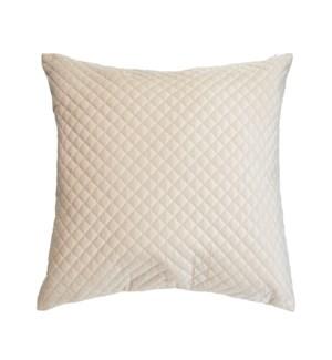 Luxe Velvet Cushion Cover Cream