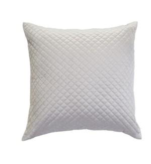 Luxe Velvet Cushion Cover Silver