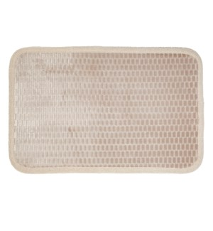Link Microfiber Bath Mat Taupe