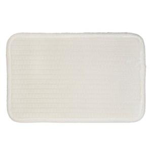 Link Microfiber Bath Mat Cream