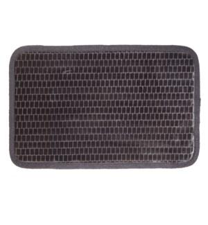 Link Microfiber Bath Mat Charcoal