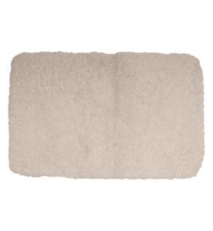 Sherpa Microfiber Bath Mat Taupe