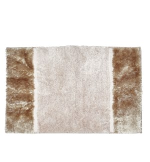 Section Bath Mat Taupe