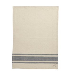 Bistro Stripe Single Kitchen Towel Blue