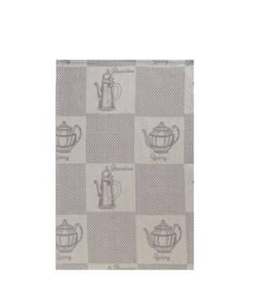 Tea Pots Single Kitchen Towel Linen