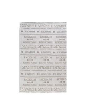 Pasta Single Kitchen Towel Linen