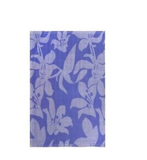 Lily Jacquard Single Kitchen Towel Lavendar