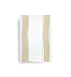 Cuisine Single Kitchen Towel Tan
