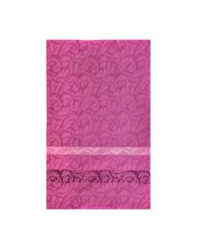 Jacquard Vine Single Kitchen Towel Purple
