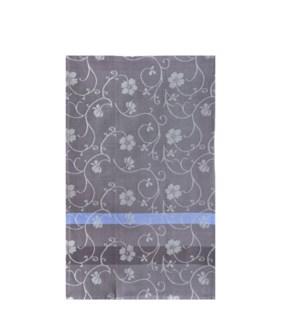 Jacquard Vine Single Kitchen Towel Slate