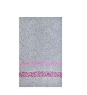 Jacquard Vine Single Kitchen Towel Grey