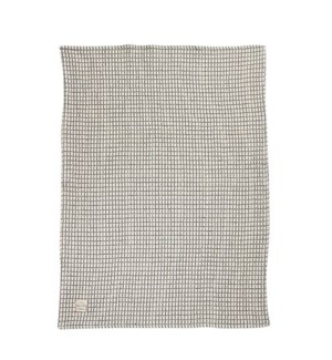 Window Pane Single Kitchen Towel Blue