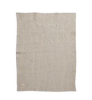 Window Pane Single Kitchen Towel Grey