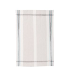 Box Check Single Kitchen Towel Dusty Aqua
