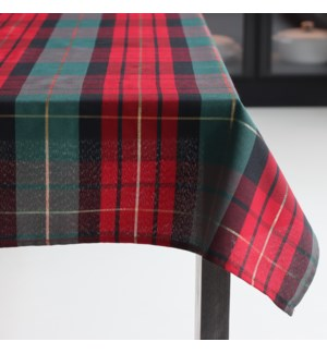 Traditional Check Table Cloth 70 Rd Forest