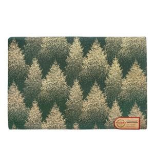Golden Forest Placemat Metallic
