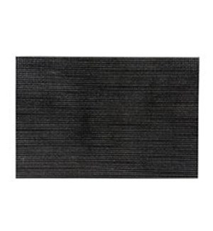 Diamonds Hardboard Placemat 12 x 18 Black