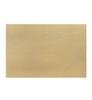 Diamonds Hardboard Placemat 12 x 18 Gold