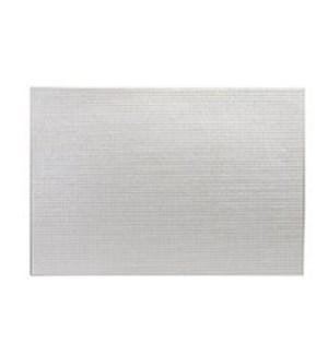 Diamonds Hardboard Placemat 12 x 18 Silver