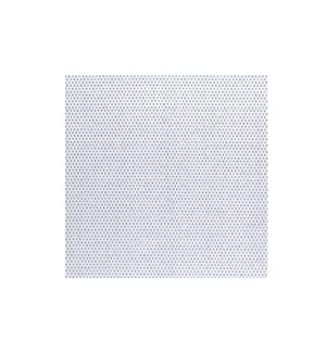 Diamonds Hardboard Placemat 14 x 14 White