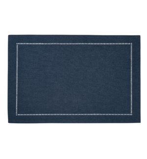 Linen Look Placemat Navy