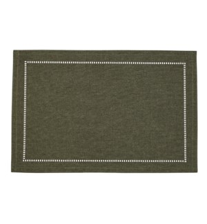 Linen Look Placemat Forest