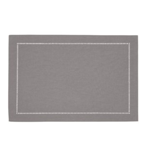 Linen Look Placemat Grey