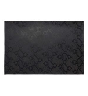 Metallic Python Placemat Black
