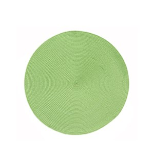 Rotunda Woven Placemat Green