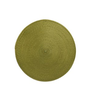 Rotunda Woven Placemat Olive