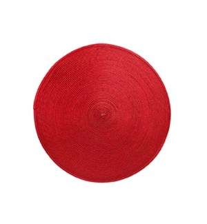 Rotunda Woven Placemat Red