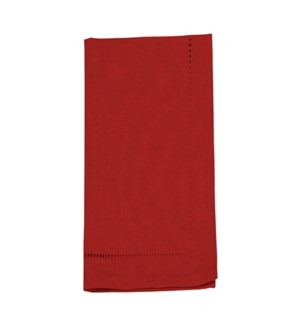 Linen Look Napkin Set Of 4 Red