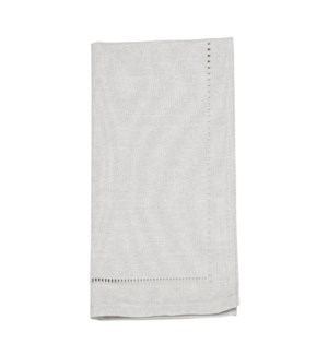 Linen Look Napkin Set Of 4 Light Grey