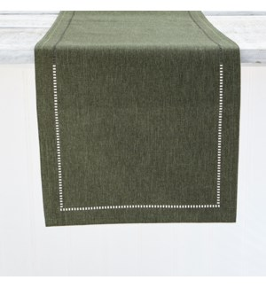 Linen Look Table Runner Forest