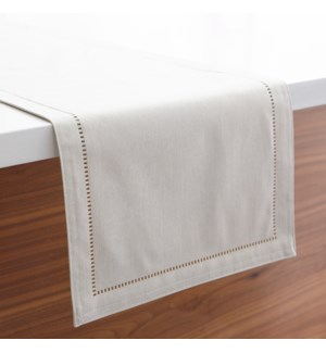 Linen Look Table Runner Linen