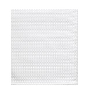 Hotel Lux Shower Curtain White