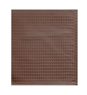 Hotel Lux Shower Curtain Chocolate