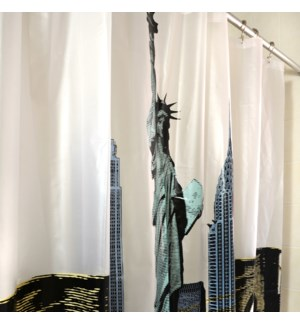City Shower Curtain New York Multi