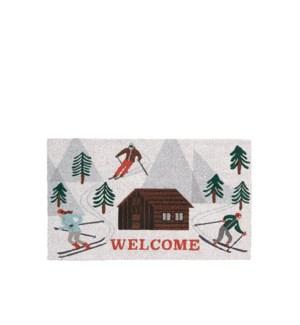 Apres Ski Coir Mat White