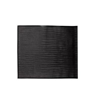 Drift Vinyl Floor Mat Black 24 x 72